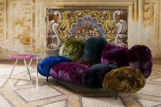 FERNANDO & HUMBERTO CAMPANA  cipria sofa design fernando humberto campana for edra in room